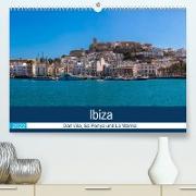 Cover-Bild zu Wolff, Alexander: Ibiza Dalt Vila, Sa Penya und La Marina (Premium, hochwertiger DIN A2 Wandkalender 2022, Kunstdruck in Hochglanz)