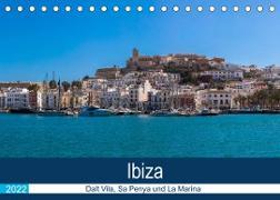 Cover-Bild zu Wolff, Alexander: Ibiza Dalt Vila, Sa Penya und La Marina (Tischkalender 2022 DIN A5 quer)