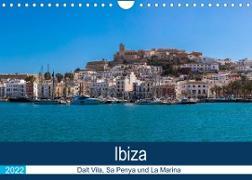 Cover-Bild zu Wolff, Alexander: Ibiza Dalt Vila, Sa Penya und La Marina (Wandkalender 2022 DIN A4 quer)
