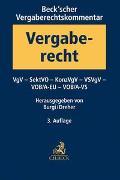 Cover-Bild zu Burgi, Martin (Hrsg.): Beck'scher Vergaberechtskommentar Band 2