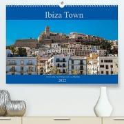 Cover-Bild zu Wolff, Alexander: Ibiza Town Dalt Vila, Sa Penya and La Marina (Premium, hochwertiger DIN A2 Wandkalender 2022, Kunstdruck in Hochglanz)