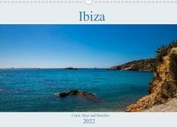 Cover-Bild zu Wolff, Alexander: Ibiza, Coast, Bays and Beaches (Wall Calendar 2022 DIN A3 Landscape)