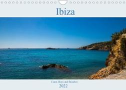 Cover-Bild zu Wolff, Alexander: Ibiza, Coast, Bays and Beaches (Wall Calendar 2022 DIN A4 Landscape)