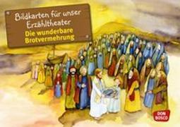 Cover-Bild zu Bildkarten für unser Erzähltheater: Die wunderbare Brotvermehrung von Brandt, Susanne