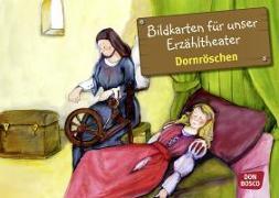 Cover-Bild zu Kamishibai Bildkartenset Dornröschen von Lefin, Petra (Illustr.)