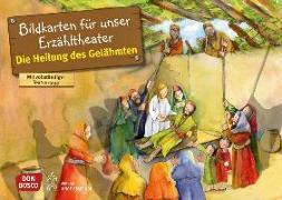 Cover-Bild zu Die Heilung des Gelähmten. Kamishibai Bildkartenset von Groß, Martina