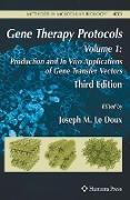Cover-Bild zu LeDoux, Joseph (Hrsg.): Gene Therapy Protocols 1