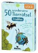 Cover-Bild zu Exp Natur 50 wundersame Tierrätsel - Insekten