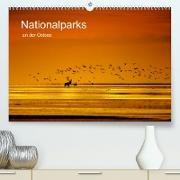 Cover-Bild zu Schröter, Klaus-Herbert: Nationalparks an der Ostsee (Premium, hochwertiger DIN A2 Wandkalender 2022, Kunstdruck in Hochglanz)