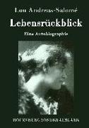 Cover-Bild zu Andreas-Salomé, Lou: Lebensrückblick