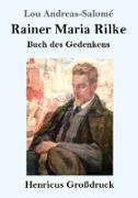 Cover-Bild zu Andreas-Salomé, Lou: Rainer Maria Rilke (Großdruck)