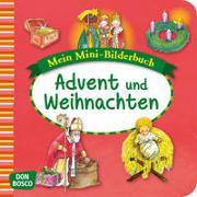 Cover-Bild zu Advent und Weihnachten. Mini-Bilderbuch von Hebert, Esther