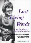 Cover-Bild zu Bachmann, Ingeborg: The Last Living Words