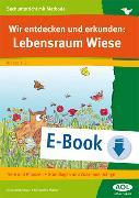 Cover-Bild zu Wir entdecken und erkunden: Lebensraum Wiese (eBook) von Krimphove, Silke