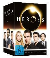 Cover-Bild zu Heroes - Gesamtbox von Sendhil Ramamurthy (Schausp.)