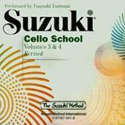 Cover-Bild zu Tsutsumi, Tsuyoshi (Hrsg.): Suzuki Cello School: Volume 3 & 4