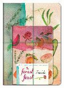 Cover-Bild zu The Forest Feast Notebooks (Set of 3) von Gleeson, Erin
