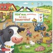 Cover-Bild zu Hofmann, Julia: Hör mal (Soundbuch): Wimmelbuch: Auf dem Bauernhof