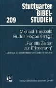 Cover-Bild zu Frankemölle, Hubert: Für alle Zeiten zur Erinnerung