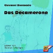 Cover-Bild zu Das Decamerone (Ungekürzt) (Audio Download) von Boccaccio, Giovanni