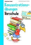 Cover-Bild zu Einfach lernen mit Rabe Linus - Vorschule Konzentrationsübungen von Raab, Dorothee