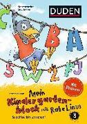 Cover-Bild zu Mein Kindergartenblock mit Rabe Linus (3) von Raab, Dorothee