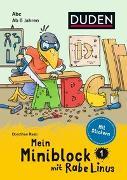 Cover-Bild zu Mein Miniblock mit Rabe Linus - Abc von Raab, Dorothee