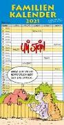 Cover-Bild zu Uli Stein - Familienkalender 2021: Familienplaner mit 5 Spalten von Stein, Uli