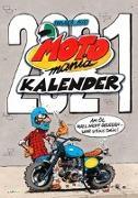Cover-Bild zu MOTOmania Kalender 2021: Monatskalender für die Wand im Großformat von Aue, Holger