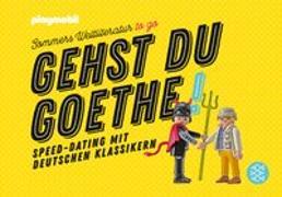 Cover-Bild zu Sommer, Michael: Gehst du Goethe!