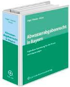 Cover-Bild zu Abwasserabgaberecht in Bayern von Vogel, Georg (Hrsg.)