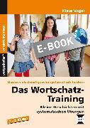 Cover-Bild zu Das Wortschatz-Training (eBook) von Vogel, Klaus