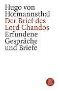 Cover-Bild zu Hofmannsthal, Hugo von: Der Brief des Lord Chandos