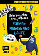 Cover-Bild zu Thißen, Sandy (Illustr.): Mein bunter Lernspielblock - Vorschule: Formen, Mengen und Laute