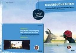 Cover-Bild zu Bilderbuchkarten »Wenn die Ziege schwimmen lernt« von Neele Moost und Pieter Kunstreich von Schirmer, Anja