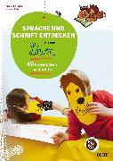 Cover-Bild zu Sprache und Schrift entdecken mit dem Löwen von Ritter, Michael