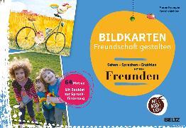 Cover-Bild zu Bildkarten Freundschaft gestalten von Krempin, Maren