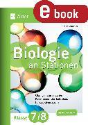 Cover-Bild zu Biologie an Stationen 7-8 Gymnasium (eBook) von Giar, Manuela