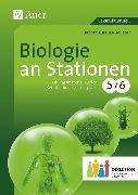 Cover-Bild zu Biologie an Stationen 5-6 Inklusion von Kurzius-Beuster, Babett