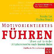 Cover-Bild zu Motivorientiertes Führen (Audio Download) von Ion, Frauke