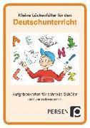 Cover-Bild zu Kleine Lückenfüller für den Deutschunterricht von Kirschbaum, Klara