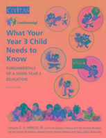Cover-Bild zu What Your Year 3 Child Needs to Know von Hirsch, E. D. (Hrsg.)