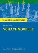 Cover-Bild zu Schachnovelle von Stefan Zweig von Zweig, Stefan