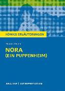 Cover-Bild zu Nora (Ein Puppenheim) von Henrik Ibsen von Ibsen, Henrik