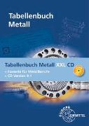 Cover-Bild zu Tabellenbuch Metall XXL CD von Gomeringer, Roland