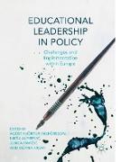Cover-Bild zu Ingþórsson, Ágúst Hjörtur (Hrsg.): Educational Leadership in Policy