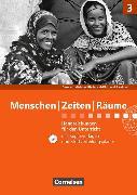 Cover-Bild zu Menschen Zeiten Räume - Gesellschaftslehre/Gesellschaftswissenschaften 3. 9./10. Schuljahr. Neue Ausgabe. Handreichungen für den Unterricht mit CD-ROM. RP,SL von Berger-v. d. Heide, Thomas (Hrsg.)