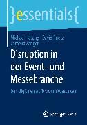 Cover-Bild zu Disruption in der Event- und Messebranche (eBook) von Zanger, Cornelia