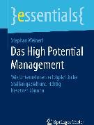 Cover-Bild zu Das High Potential Management (eBook) von Weinert, Stephan