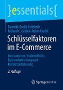Cover-Bild zu Schlüsselfaktoren im E-Commerce von Große Holtforth, Dominik
